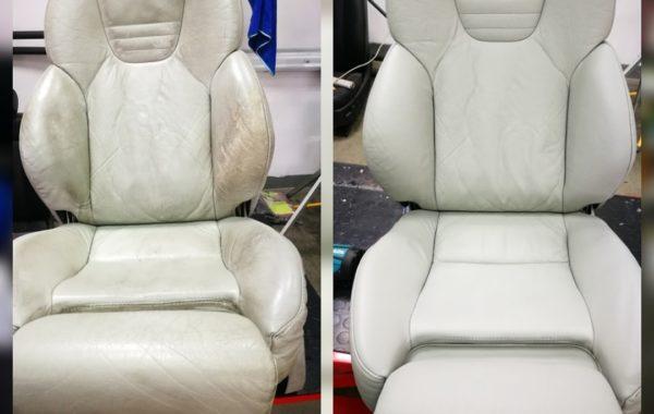 Renowacja foteli Recaro